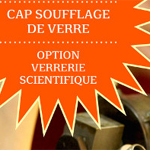 Cerfav Formation : CAP soufflage de verre option verrerie scientifique