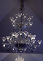 a857664ad4 Lustre « Mille Nuits » 1999-2000. Après Andrée Putman, Mathias revoit le  répertoire des luminaires de Baccarat, et le modernise subtilement.